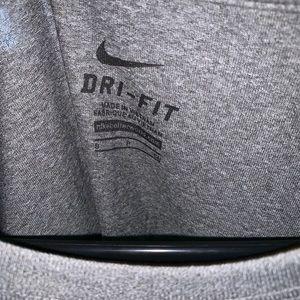 Nike Tops - Manhattanville College - Mville Strength Shirt